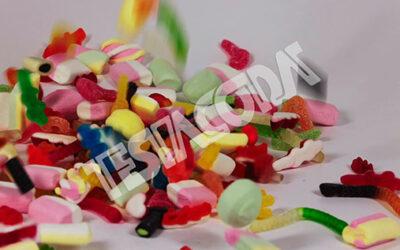 Candy fall