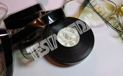35 mm Movie Picture reel and clips