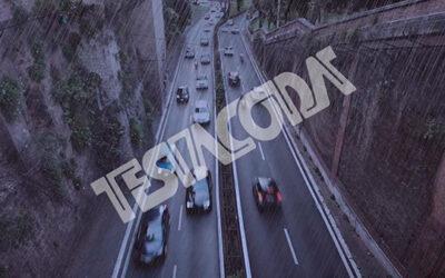 Wet Traffic on the Muro Torto