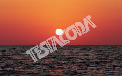 Sunset 2021 on the sea timelapse